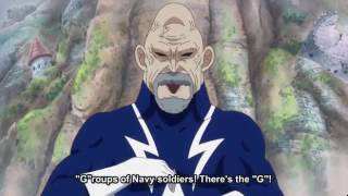 "One Piece - Lao G and his ""G"" scenes"