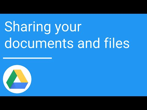 Google Drive: Sharing your documents and files | Office 365 Cloud