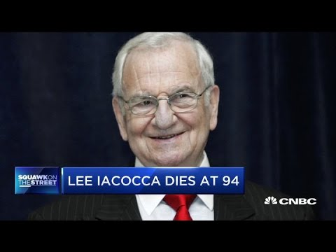 Auto industry legend Lee Iacocca passes away at age 94