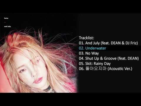 Full Album 헤이즈 HEIZE – And July Mini Album