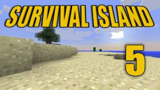 "Minecraft - ""Survival Island"" Part 5: Enchanted Water"