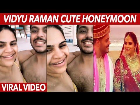 Cute video: Actress Vidyu Raman and hubby Sanjay share beautiful honeymoon moments