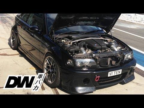 BMW E46 M3 with a V10