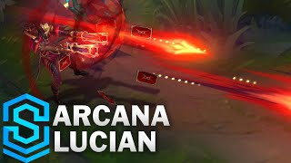 Arcana Lucian Skin Spotlight - Pre-Release - League of Legends