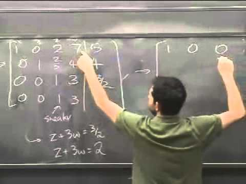 Baixar Lec 01 - Linear Algebra | Princeton University