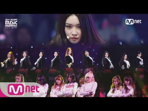 [2017 MAMA in Japan] Weki Meki/CHUNG HA/PRISTIN_IT'S SHOWTIME
