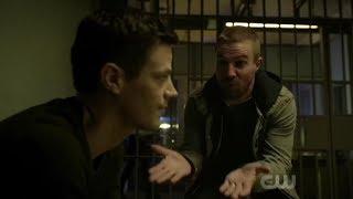 Kate Kane bails Barry, Kara and Oliver out of Jail | Elseworlds Part 2
