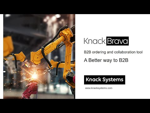 Knack Brava : B2B ordering and collaboration tool by Knack Systems