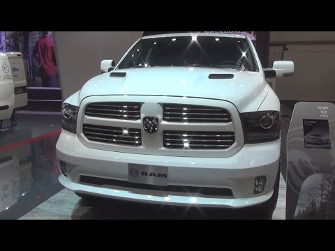 Ram 1500 Quad Cab Sport 5.7L V8 Hemi MDS VVT (2017) Exterior and Interior in 3D