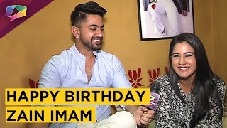 Aditi Rathore Celebrates Zain Imam's Birthday