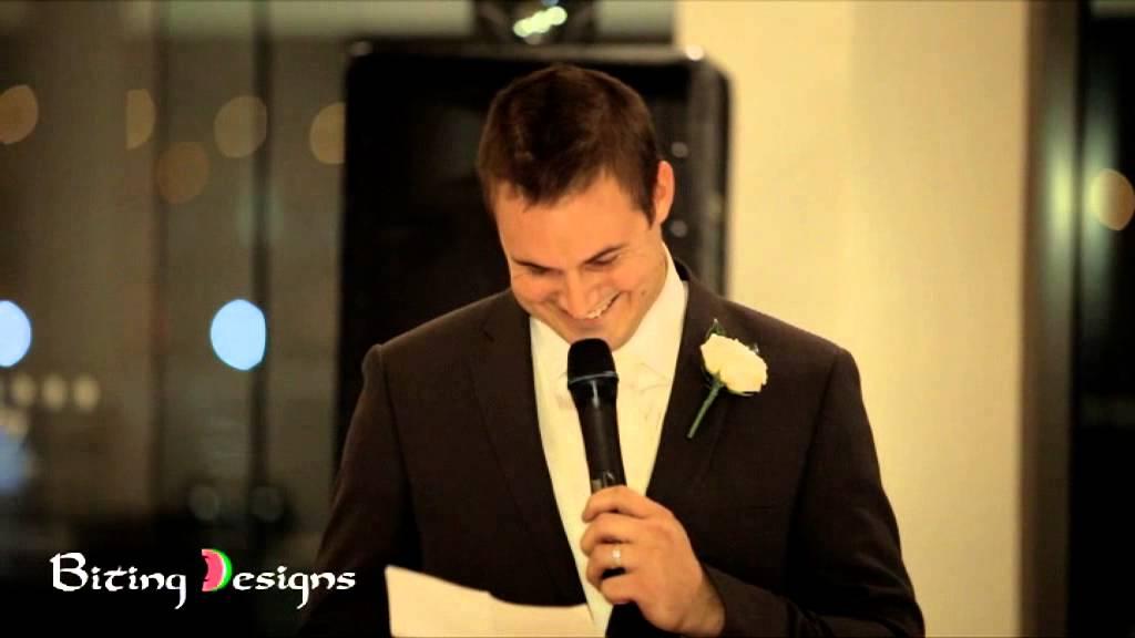 Grooms Speech To Bride Examples: Funny Wedding Speech (Groom)