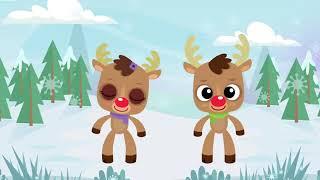 Reindeer Pokey ¦ Christmas Songs for Kids ¦ Reindeer Song ¦ The Kiboomers