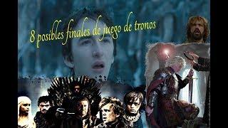 8 Posibles Finales de Juego de Tronos