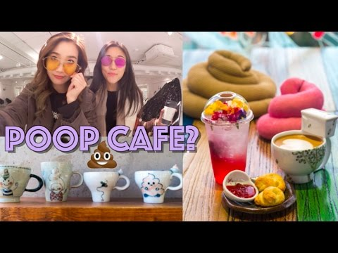 A Crappy Cup of Coffee at Seoul's Poop Cafe 💩 JOANDAY #4