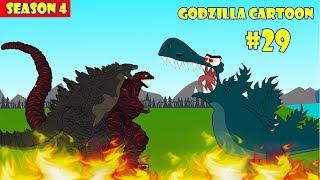 Godzilla vs Shin Godzilla #29 - 1 Hour Funny | Godzilla Cartoon