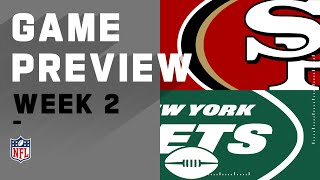 San Fransisco 49ers vs. New York Jets NFL Week 2 Game Preview