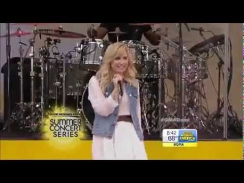 Baixar Demi Lovato - Made In The USA- LIVE on GMA 2013