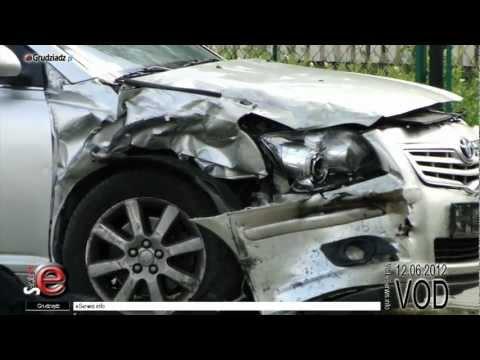 Wypadek samochodowy ul. Konarskiego