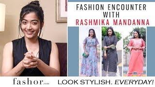 Actress Rashmika Mandanna Shares Her Style Mantra..