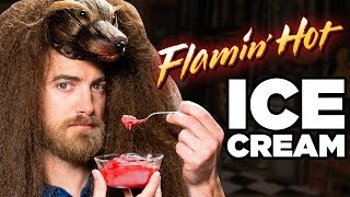 Flamin' Hot Ice Cream Taste Test
