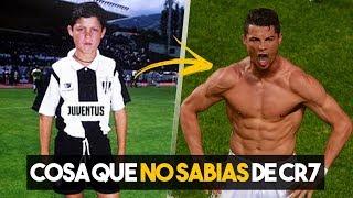 10 Cosas que no sabias de Cristiano Ronaldo CR7