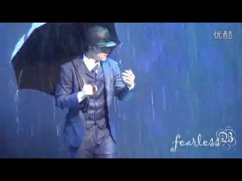140708 EXO Baekhyun Singing in the rain (THE BEST PART) [fearlessB]