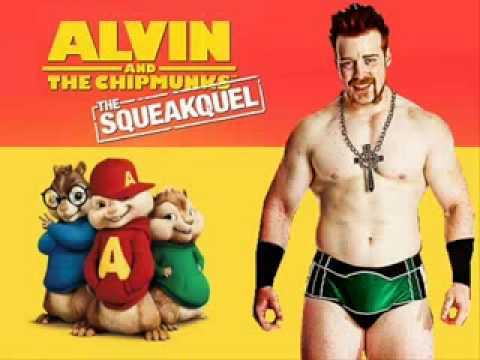 Alvin y las ardillas cantan el tema de sheamus