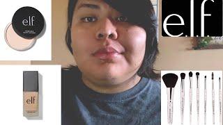 Full face using E.L.F cosmetics