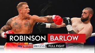 FULL FIGHT! Steve Robinson vs Reece Barlow | HUGE KO 🤯