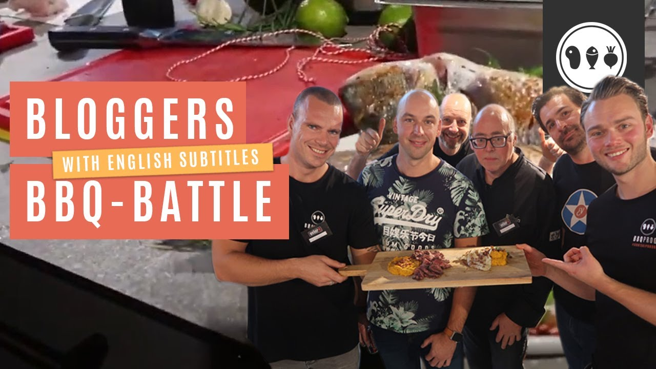 Bloggers BBQ battle onder leiding van Jamie Purviance