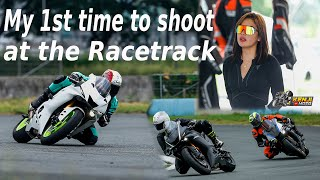 Trackday shoot with Bianca Rufinno feat. Kuya Naj Abdul and Upak riders part 1