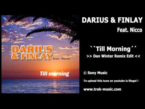 Darius & Finlay feat. Nicco - Till Morning (Dan Winter Remix Edit)