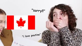 finn wolfhard being canadian for 5 minutes straight