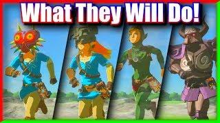 What Every New DLC Mask & Armor Does - Zelda Breath of the Wild