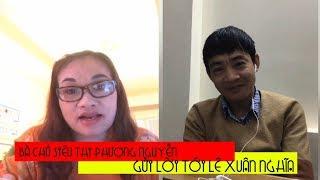 Bà chủ siêu thị gửi lời tới Lê Xuân Nghĩa