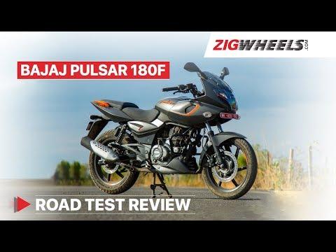 Bajaj Pulsar 180F Road Test Review Video & Mileage, 0-100kmph acceleration, Price