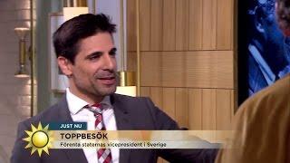 Marcus Oscarsson: Därför är Joe Biden min favoritpolitiker - Nyhetsmorgon (TV4)