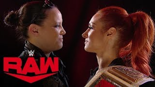 Shayna Baszler interrupts Becky Lynch's interview: Raw, Nov. 4, 2019