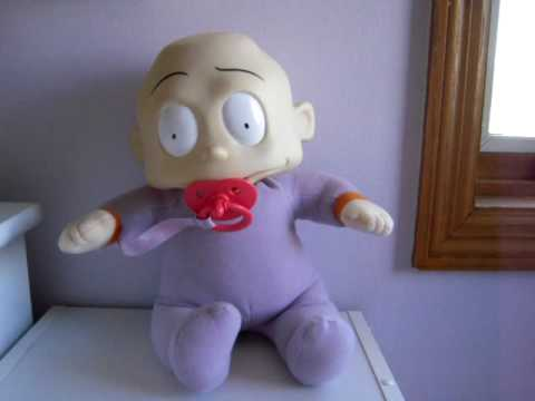1998 Viacom Rug Rats Quot Baby Dil Quot Hiccuping Sucking Doll