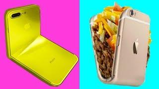 Trying 30 PHONE HACKS by 5 Minute Crafts