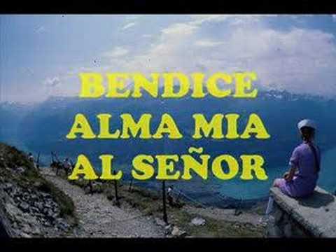BENDICE ALMA MIA