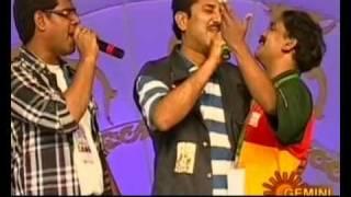 Gulte.com- Vandemataram Srinivas Song At T20 Tollywood Trophy