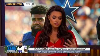 Joy Taylor shares her experience with domestic violence