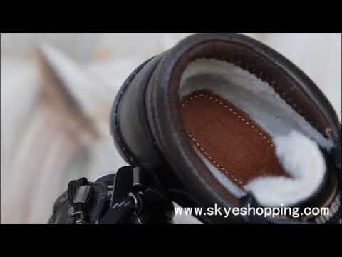 men elevator shoes winter warm shoes