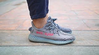 Adidas Yeezy Boost 350 V2 Beluga 2.0 On Feet