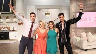 Salsa Dancing with Ingrid Hoffmann & Dr. Mike! - Pickler & Ben