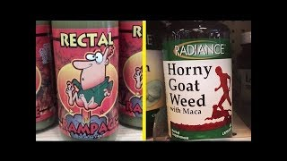 10 Of The Funniest Product Names From Around The World