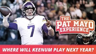 Case Keenum on being a free agent