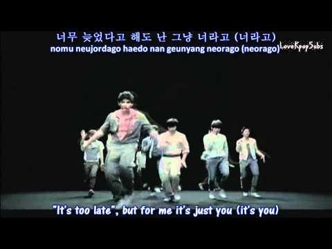 Super Junior - It's you (Dance ver.) MV [English subs + Romanization + Hangul]