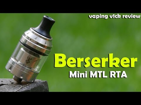 video Vandy Vape Berserker Mtl Rta
